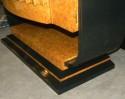 English Art Deco Epstein Bar Lacquer Storage Cabinet sides