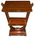 Macassar petite console or side table