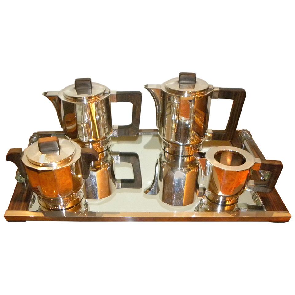 Art Deco Coffee And Tea Service Sold