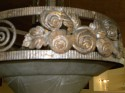 French Art Deco Chandelier attributed to Degue Iron