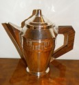French Classic 5 piece Art Deco Coffee Tea Service Coffee