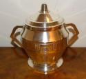 French Classic 5 piece Art Deco Coffee Tea Service Sugar