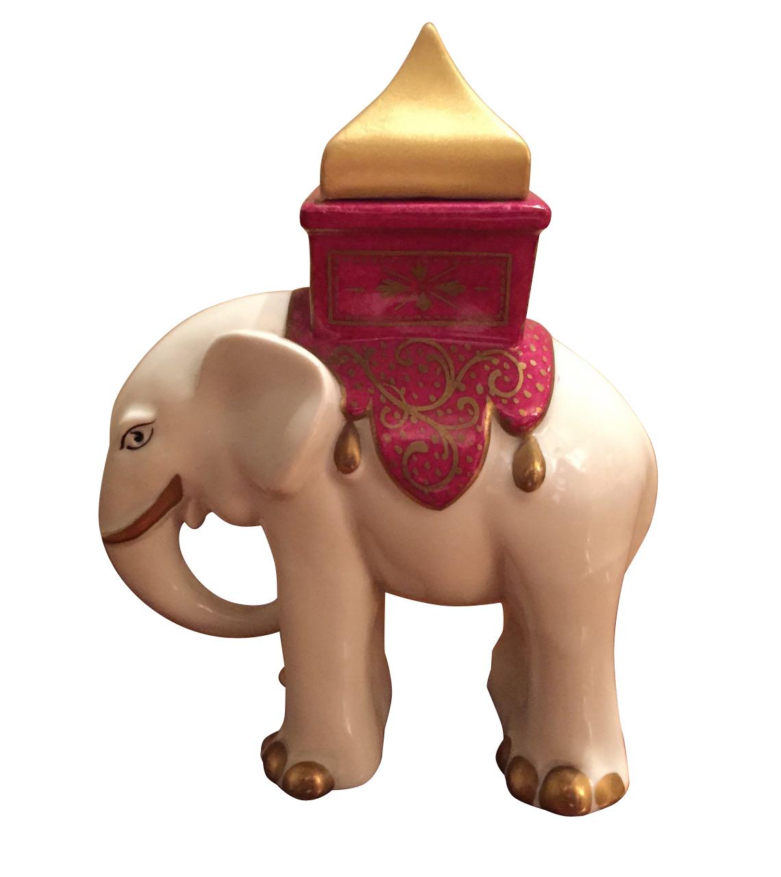Robj elephant Paris ceramic