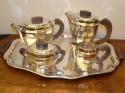 5 piece art deco coffee tea service