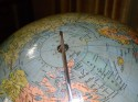 Streamline Pre WW2 German made World Globe