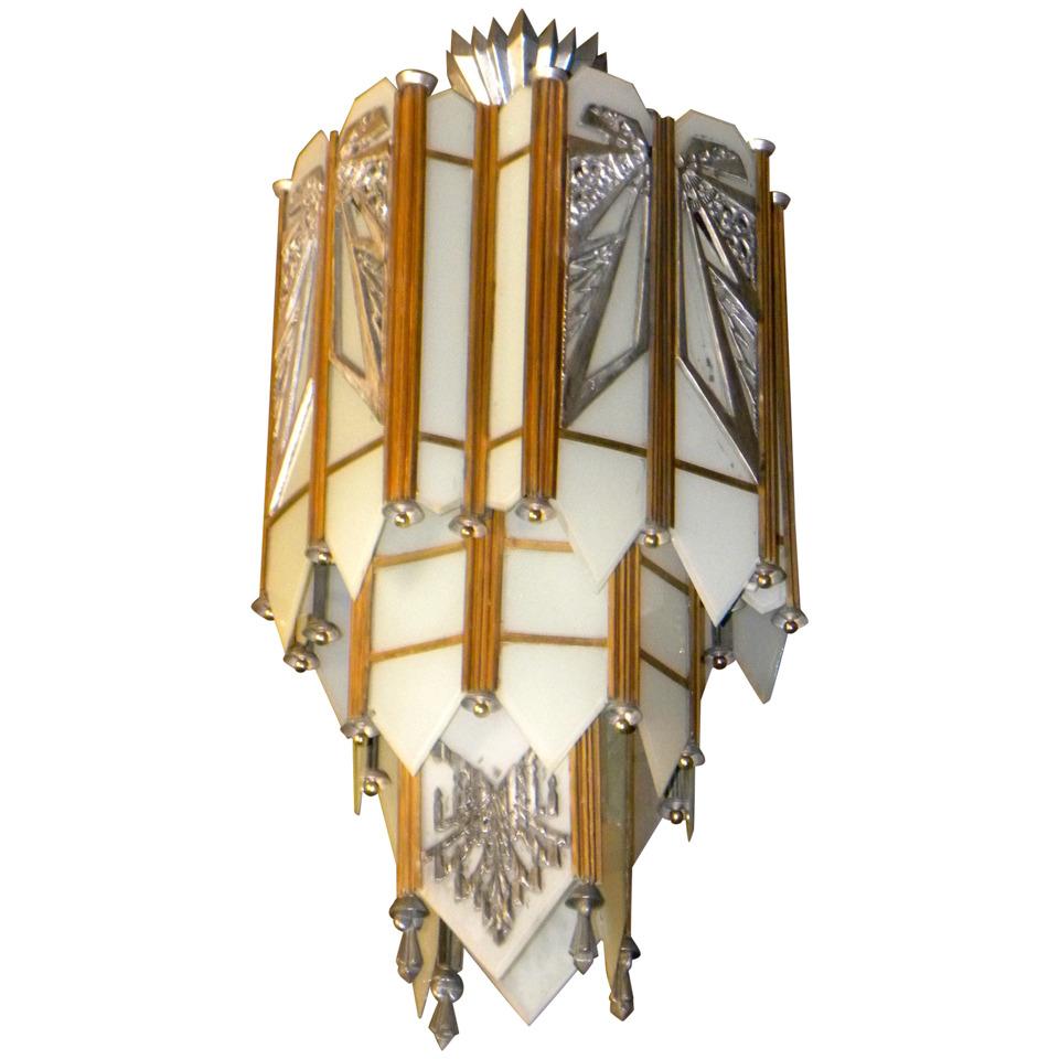Art Deco Lighting Sold Chandeliers – Art Deco Chandelier Lighting