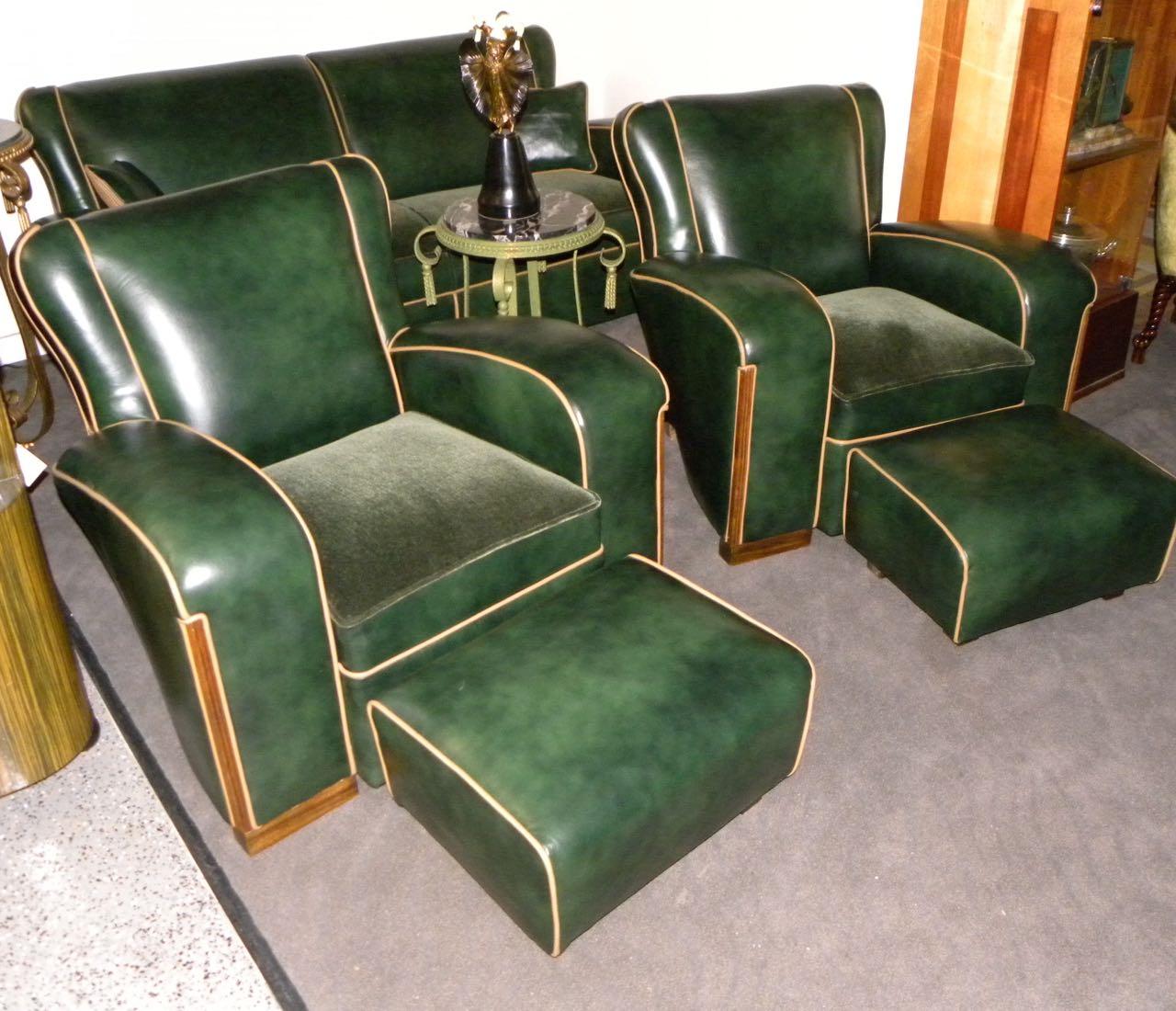 Unique Sofa: Unique Art Deco Sofa Suite