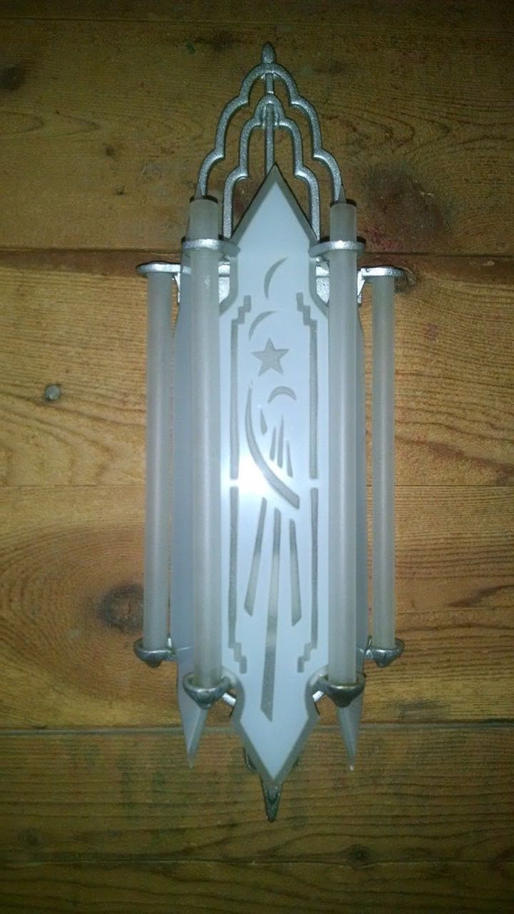 Art Deco Movie Theater Style Sconces