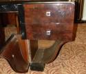 Unique Symmetrical Art Deco Desk drawers