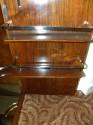 Prohibition Era Art  Deco Bar Cabinet glasses
