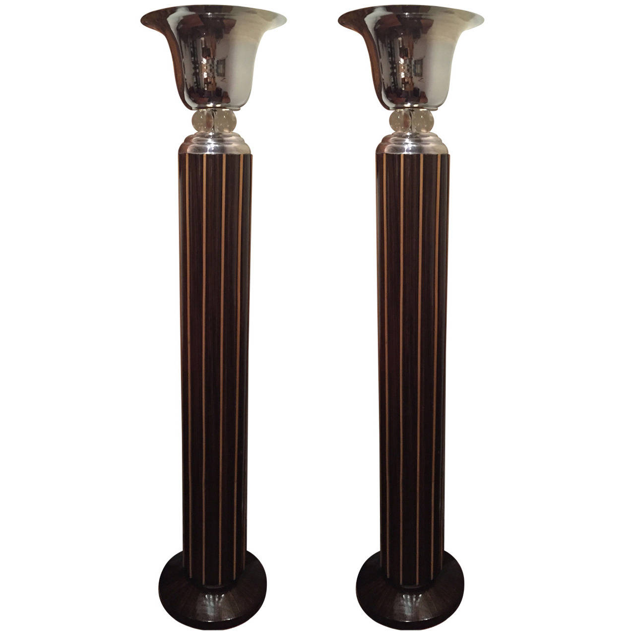 Art deco wooden floor lamp gurus floor Wood floor lamp
