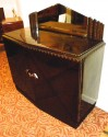 European Art Deco Credenza with Lacquered Palisander Finish side