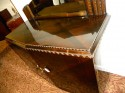 European Art Deco Credenza with Lacquered Palisander Finish top