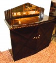 European Art Deco Credenza with Lacquered Palisander Finish  i