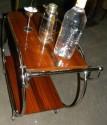 Art Deco Rolling Bar Cart