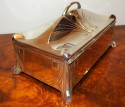 WMF Silver Art Nouveau Jewelry Casket or Cigar Box