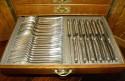 Christofle Flatware Art Nouveau Service 12 in Original Box