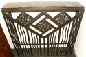 Custom French Style Iron Console Radiator Cover