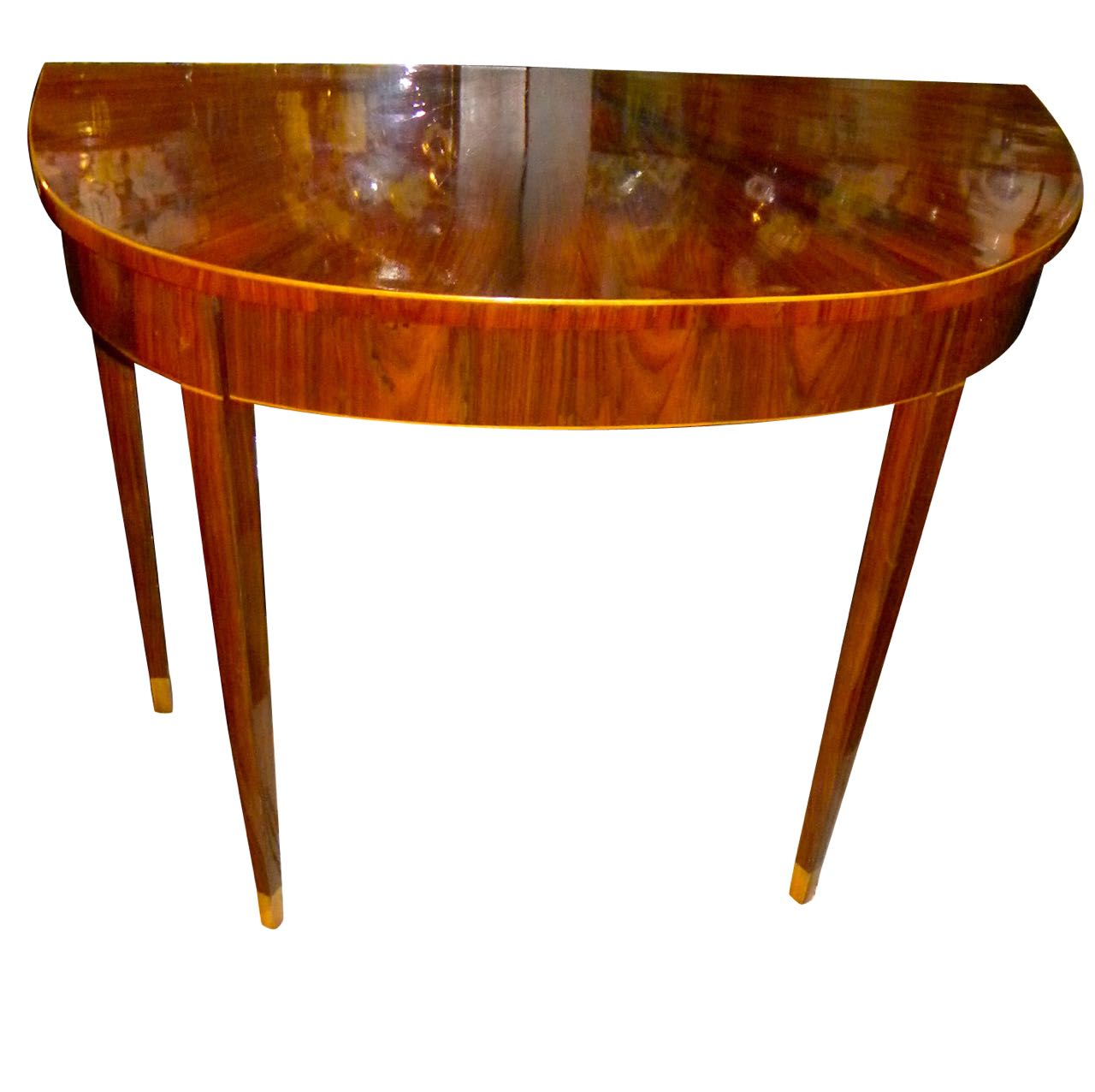 Art Deco Console Entry Table