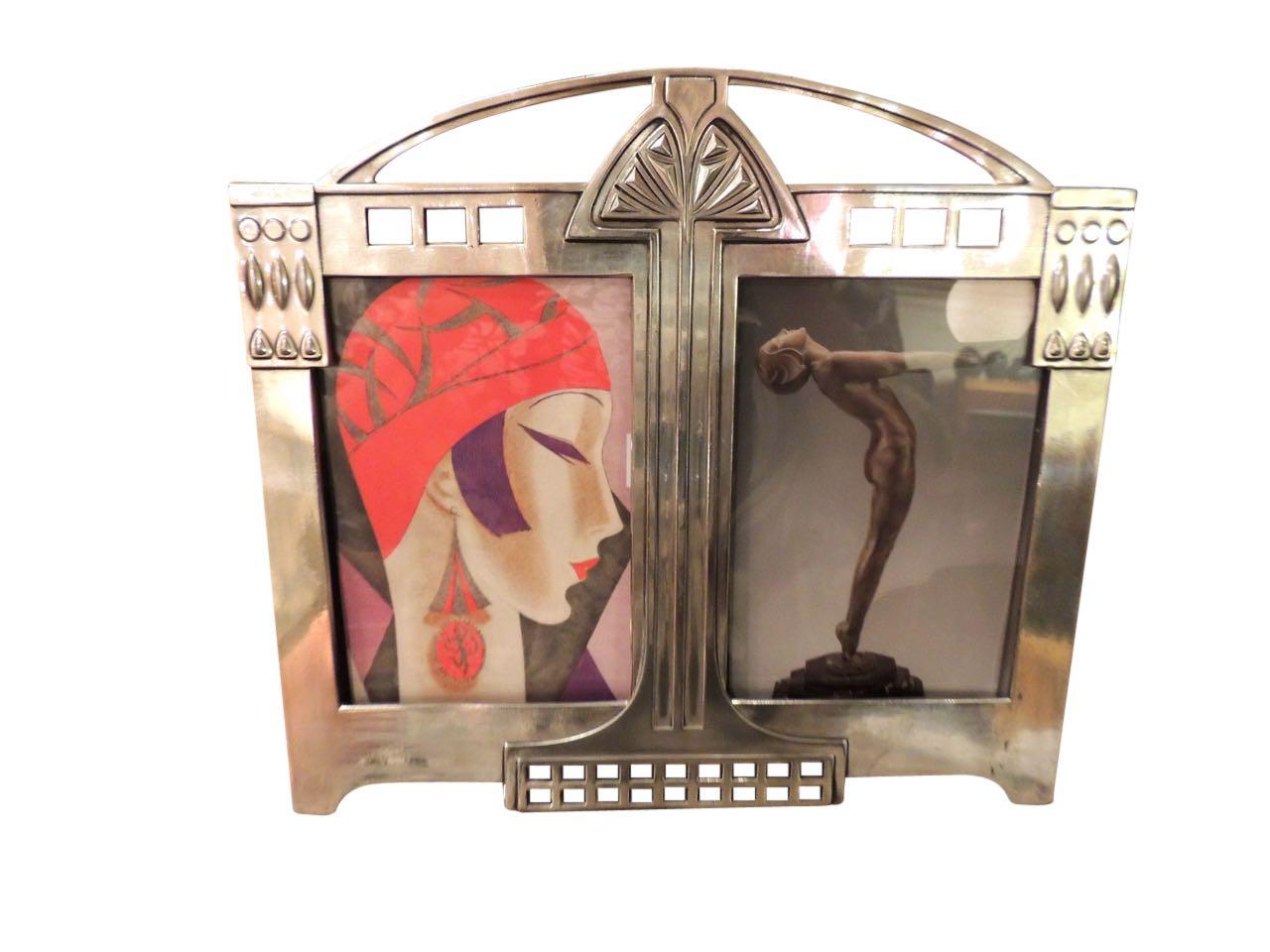 Art Nouveau WMF Silver Picture Frame