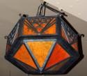 Ironwork Chandelier Art Deco Arts and Crafts