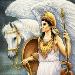 Goddess Athena post