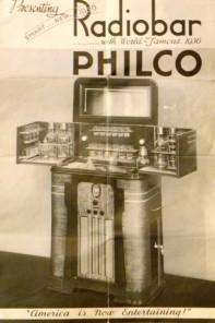radiobar philco brochure