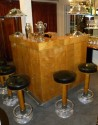 Stand Behind Art Deco bar