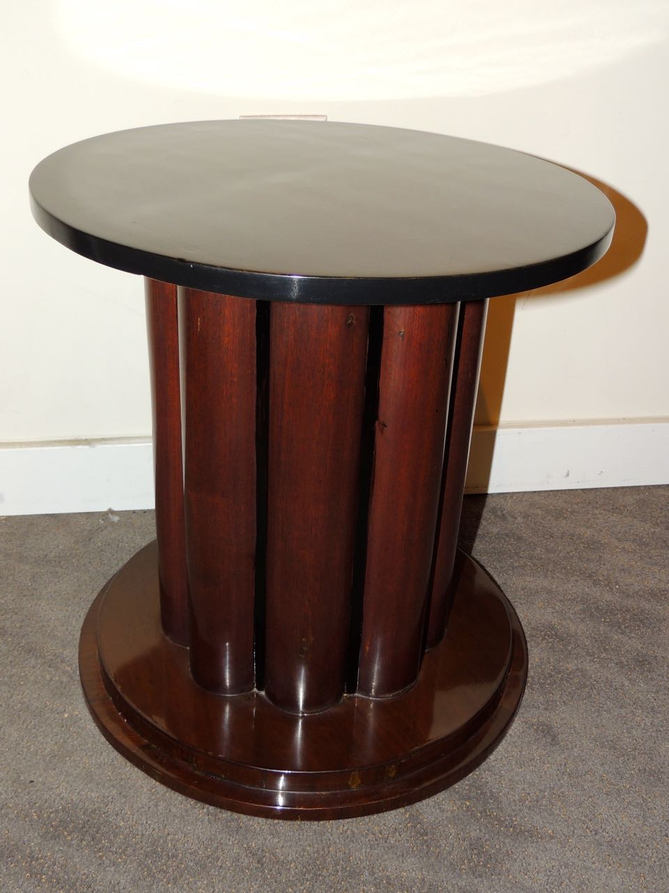 art deco table stool pedestal small tables art deco. Black Bedroom Furniture Sets. Home Design Ideas