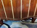 Art Deco Sunrise Inlay Flip Top Bar