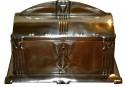 WMF Art Nouveau silver box w lid