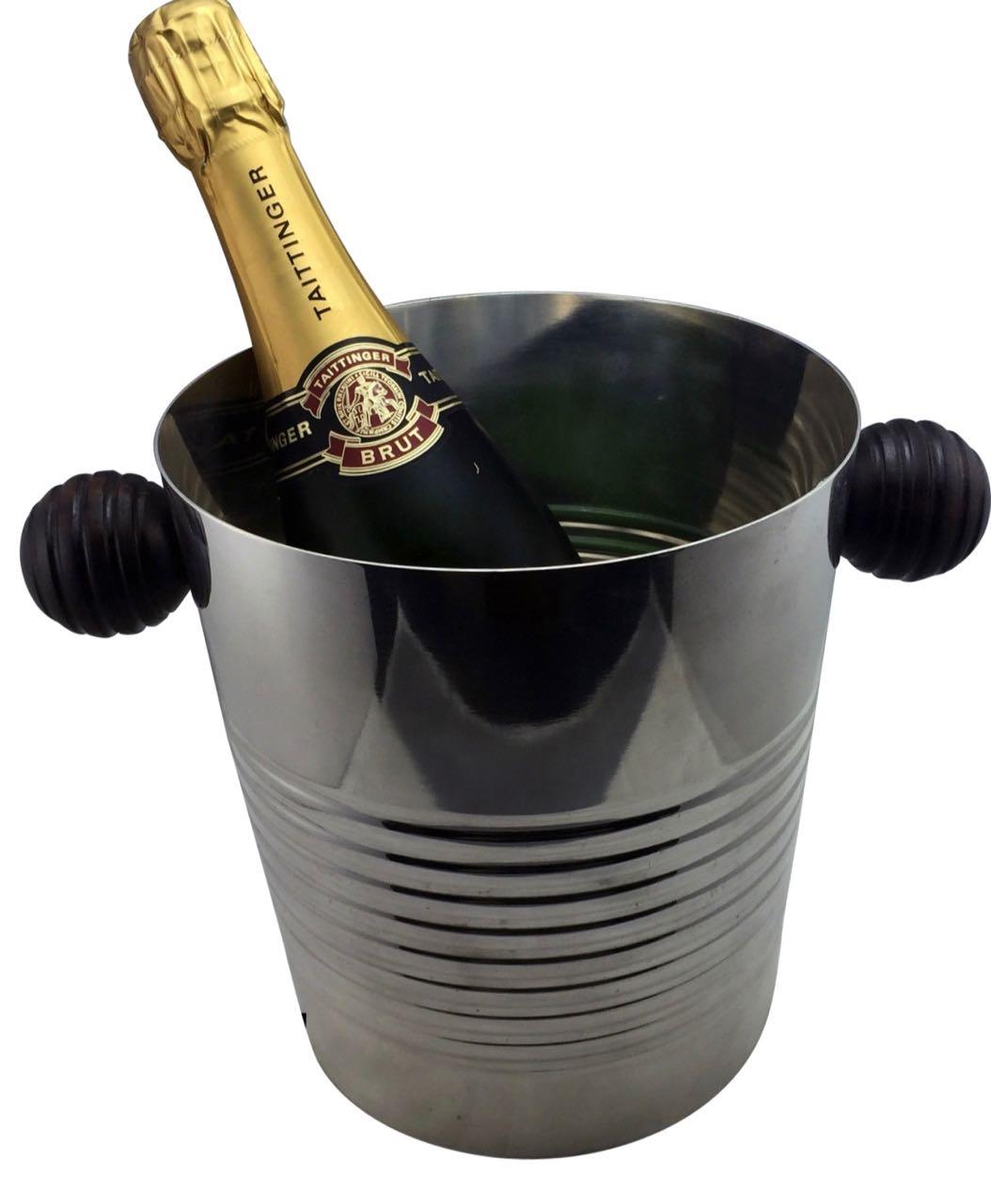 Art Deco Christofle Champagne Wine bucket Luc Lanel