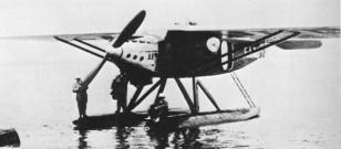 Original French Model airplane Latecoere Late 28-3 'Comte-de-La Vaulx'