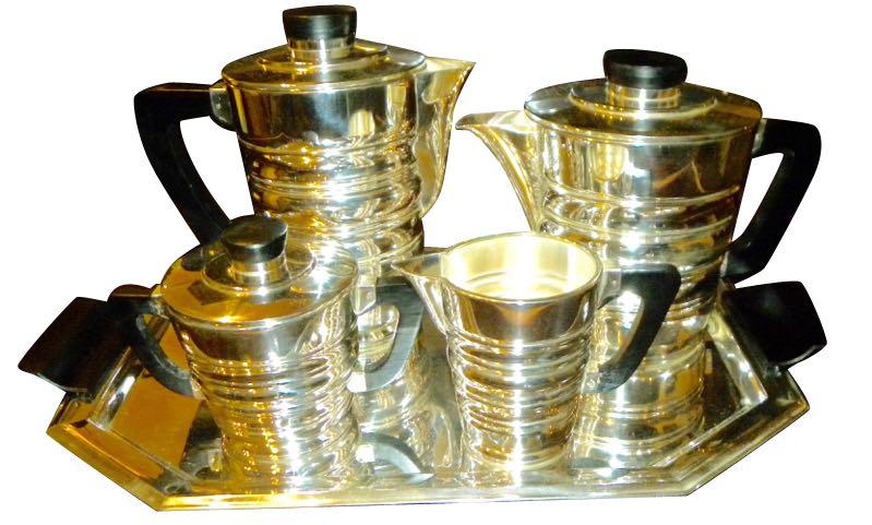 WMF Modernist Coffee Tea Service Art Deco