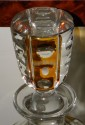 Art Deco Tantalus Set with Cut Crystal Decanters