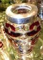 Art Deco Cut Crystal Sterling Martini Shaker