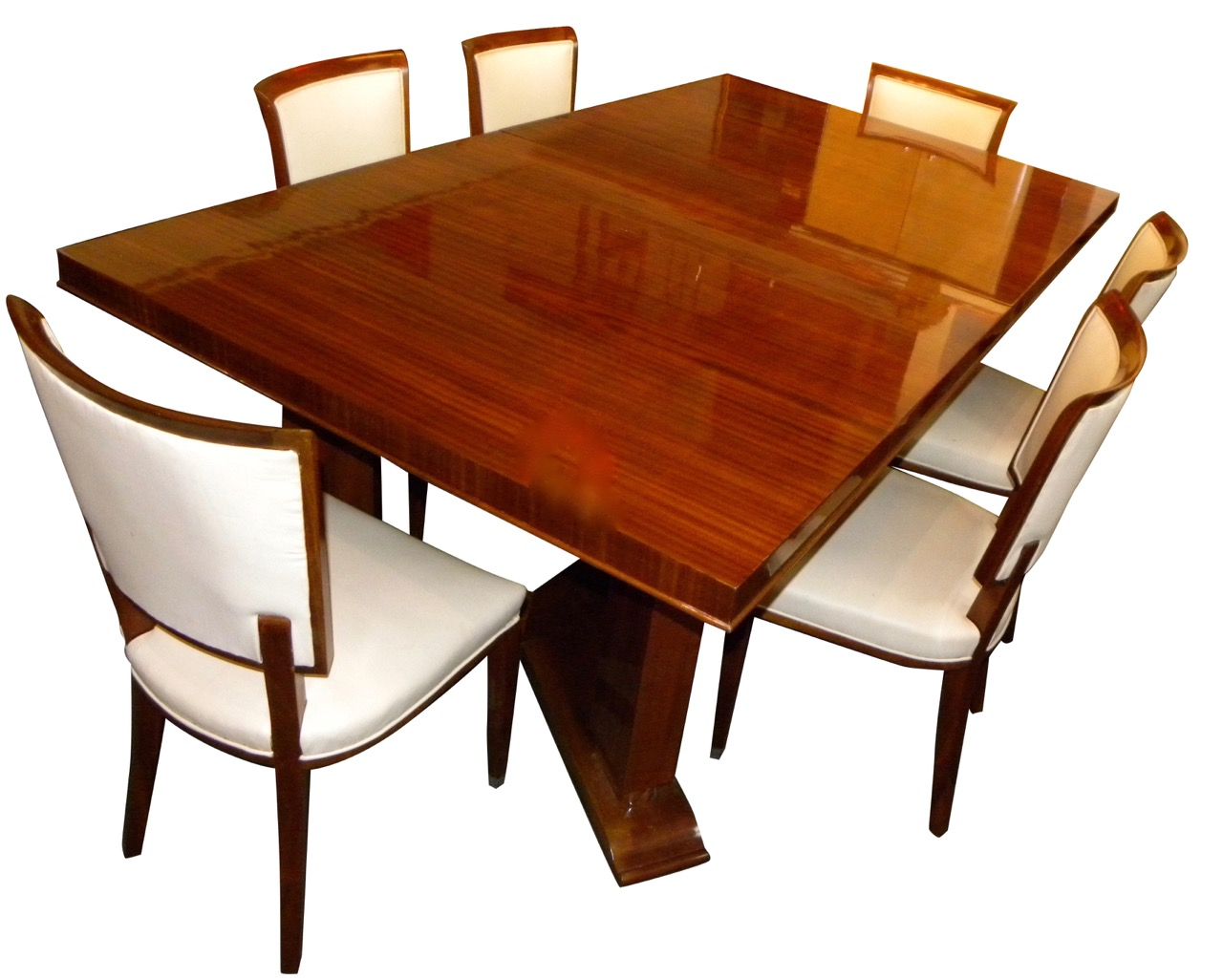 Jules Leleu Dining Room Table Chairs 1937 Paris Exhibition