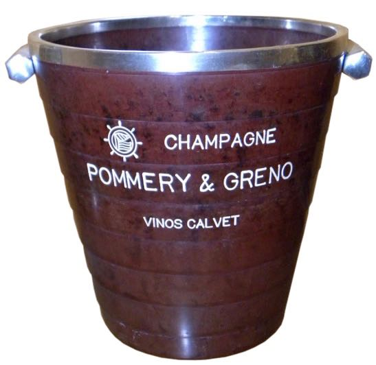 Rare French Art Deco Bakelite Champagne Bucket