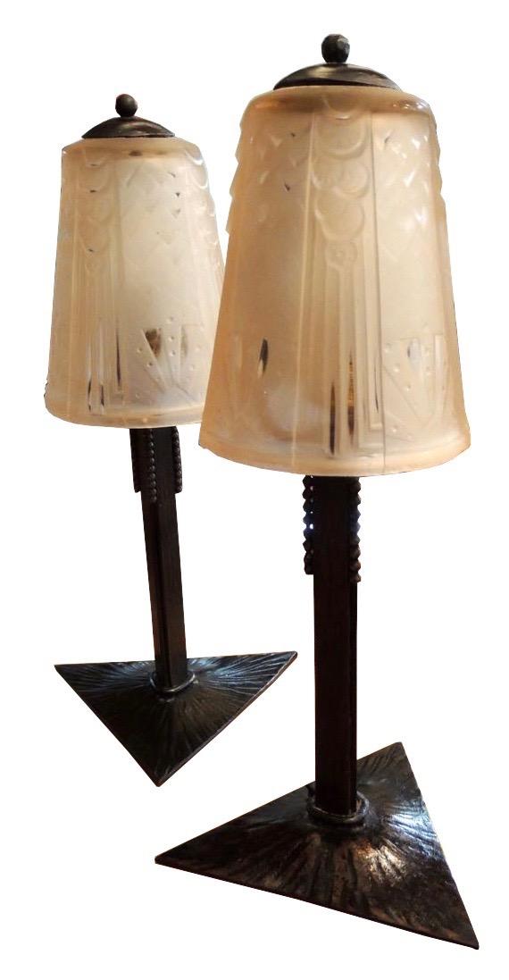 art deco glass items for sale vases decanters drinking glasses. Black Bedroom Furniture Sets. Home Design Ideas