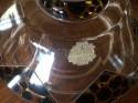 Art Deco Czech Decanter Leopard and Zig Zag