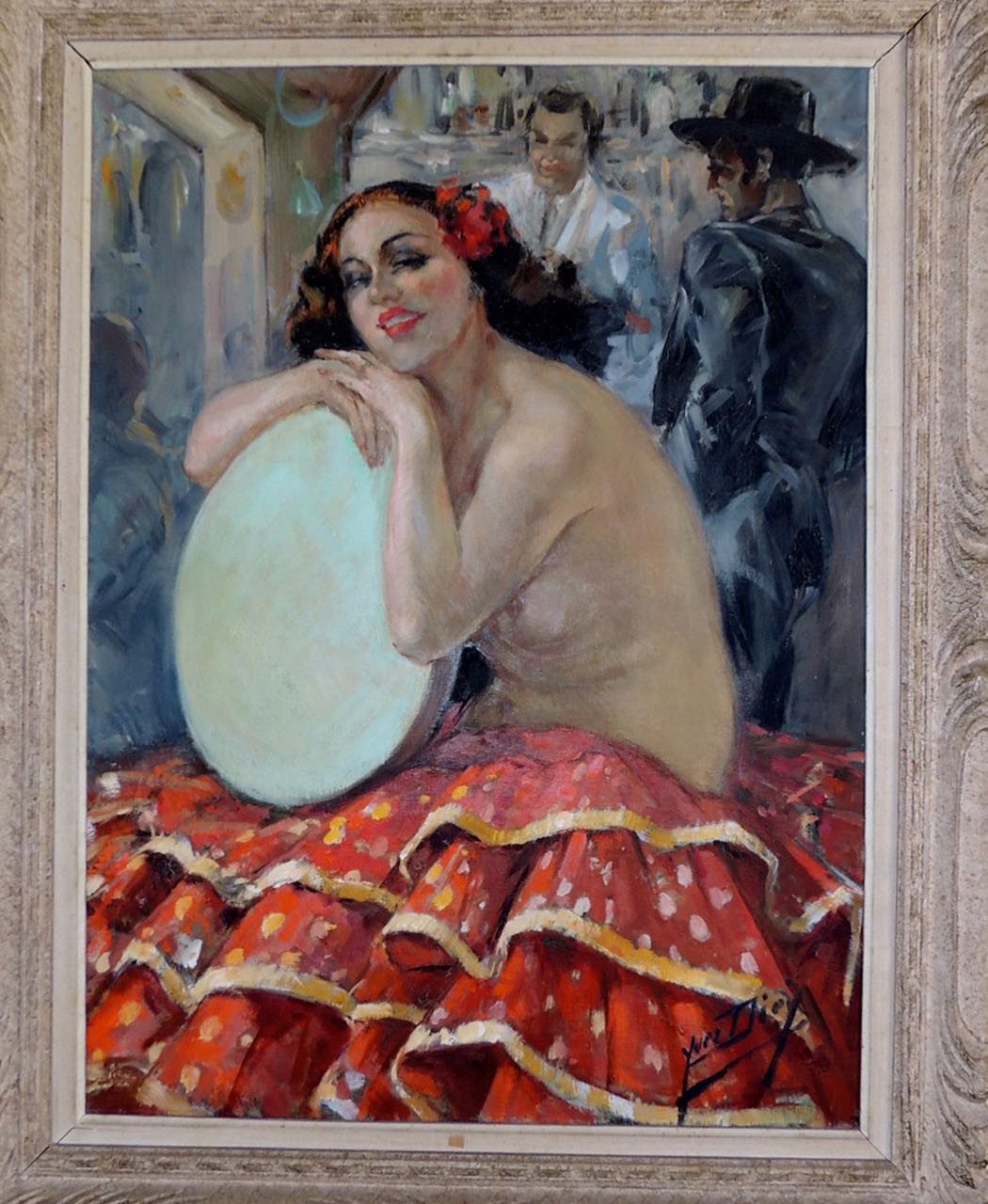 Art Nouveau Female Painting