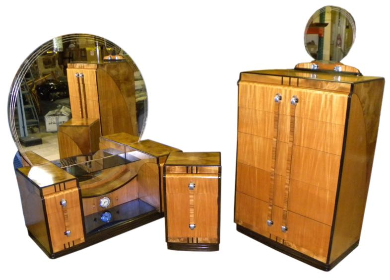 Art Deco Bedroom Suite Leo Jiranek Streamline Design Fit For A Queen Sold Items Bedroom Art Deco Collection