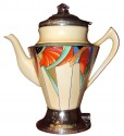 Modernistic Art Deco  Coffee Pot by Royal Rochester