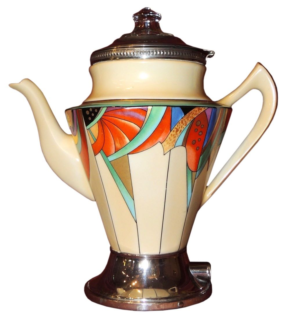 Modernistic Art Deco Coffee Pot by Royal Rochester  sc 1 st  Art Deco Collection & Art Deco Tableware for sale | Art Deco Collection