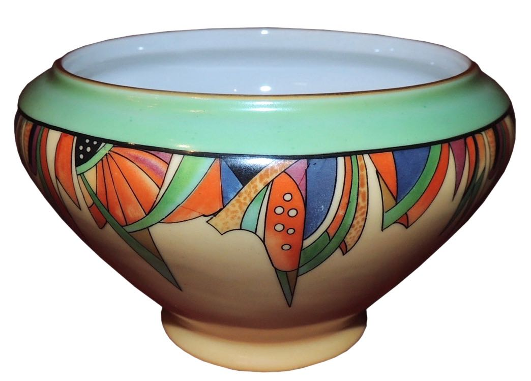 Modernistic Art Deco Royal Rochester Batter Bowl