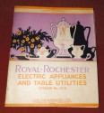 Royal Rochester Modernistic Waffle Iron