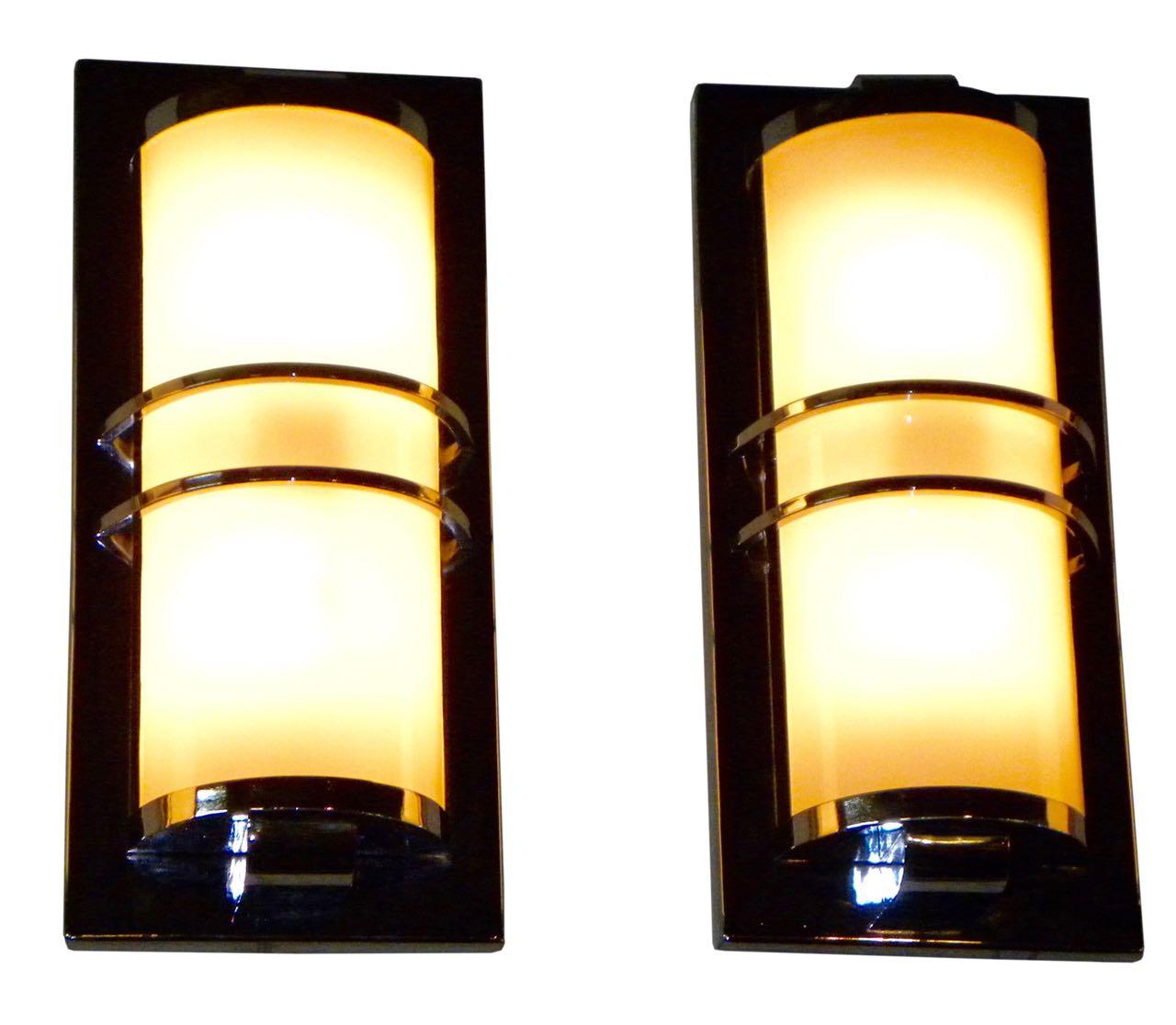 Custom Art Deco Sconces - Modernist Design