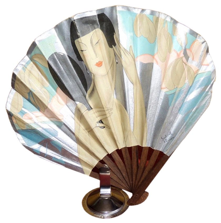 French Advertising Fan- Domergue