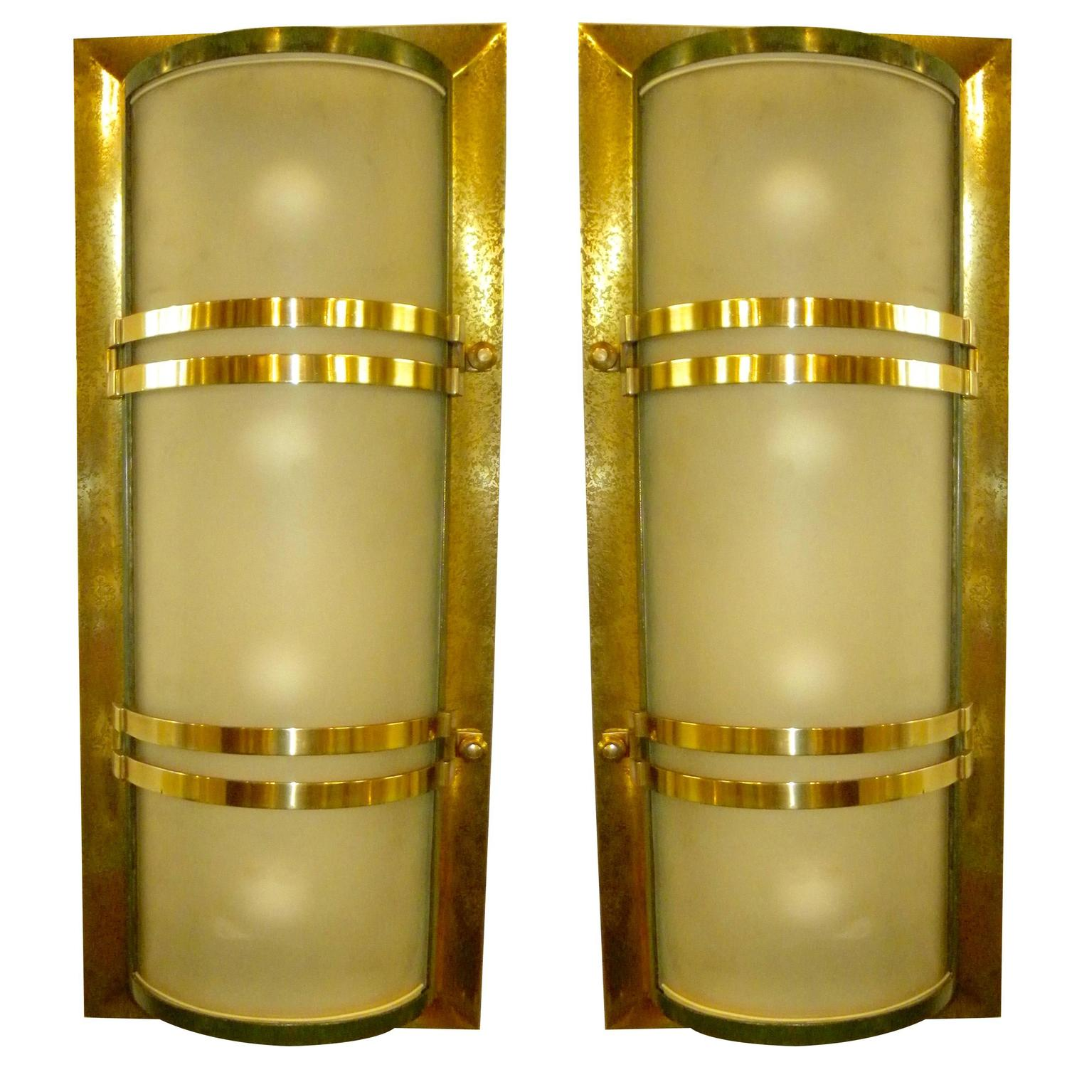 Art Deco Lighting Sold | Sconces | Art Deco Collection