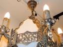 Romantic American Art Deco Chandelier